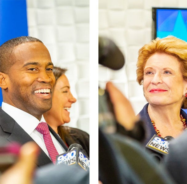 Ad touting John James that links Debbie Stabenow to 'black genocide' denounced