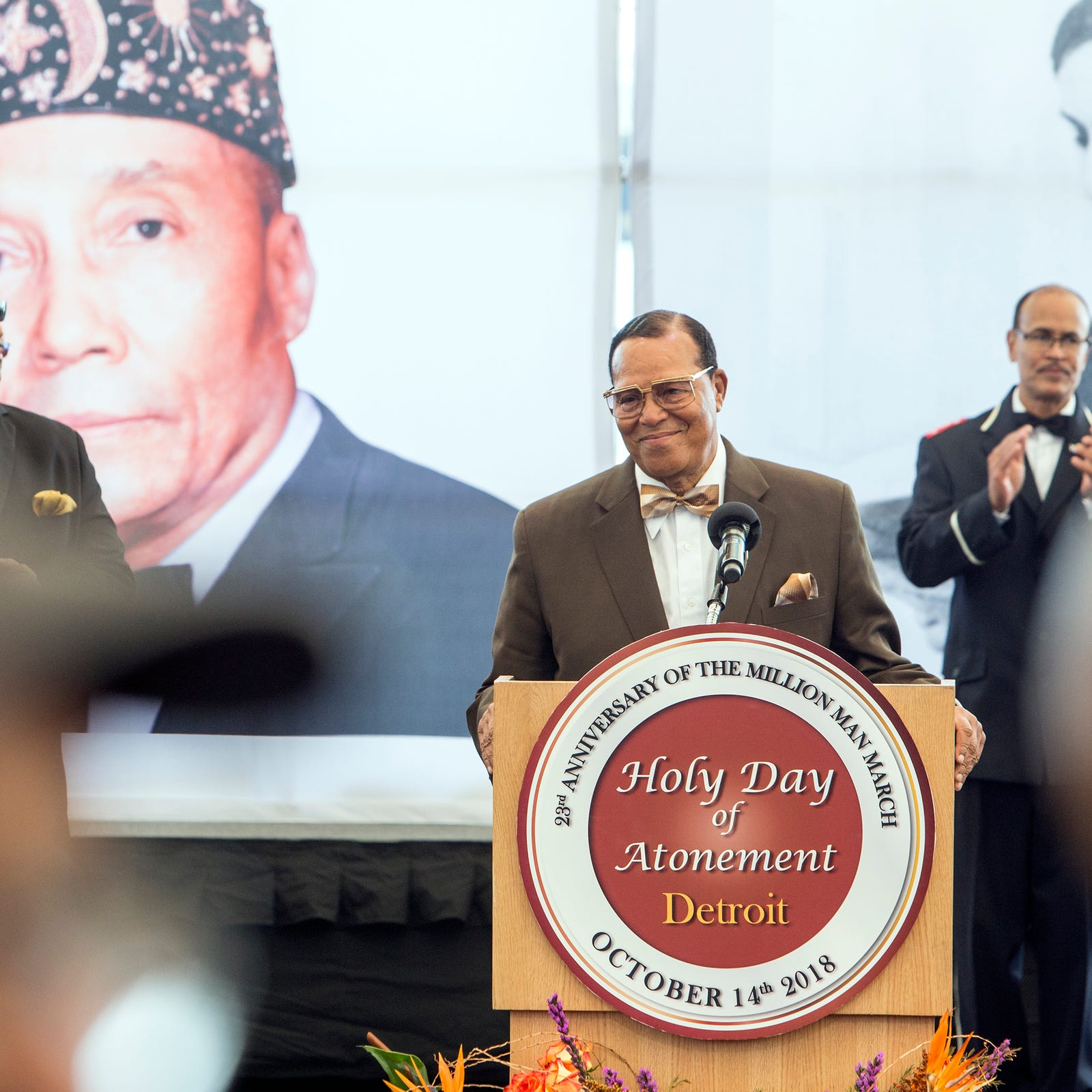 Farrakhan speaks on Aretha Franklin, Kanye West and others at Detroit event