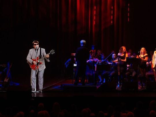 """Hologram show """"In Dreams: Roy Orbison in Concert"""" revisits the hits of the rocker who died in 1988."""