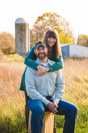 Rachel and Robby Peterson of Ionia, Mich.