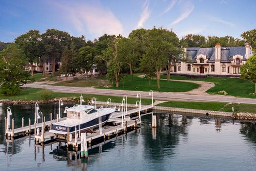 This Michigan mansion is listed at a whopping $29 million