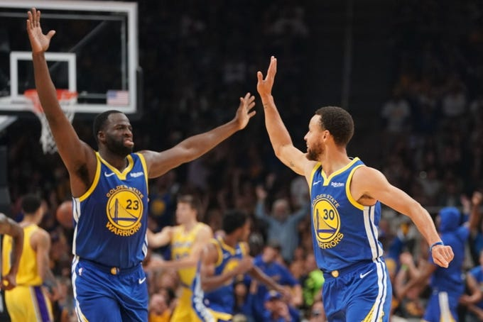 04eab4194b2 Free Press sports writer Vince Ellis gives his NBA power rankings to start  the 2018-