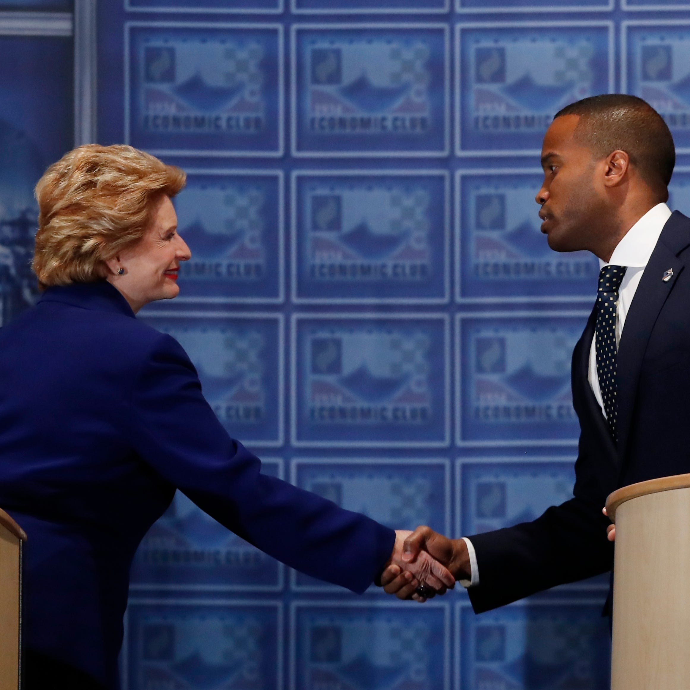 Stabenow, James debate in Detroit: Fact-checking their claims