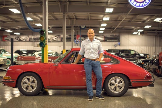 Mckeel Hagerty With Fathers Porsche