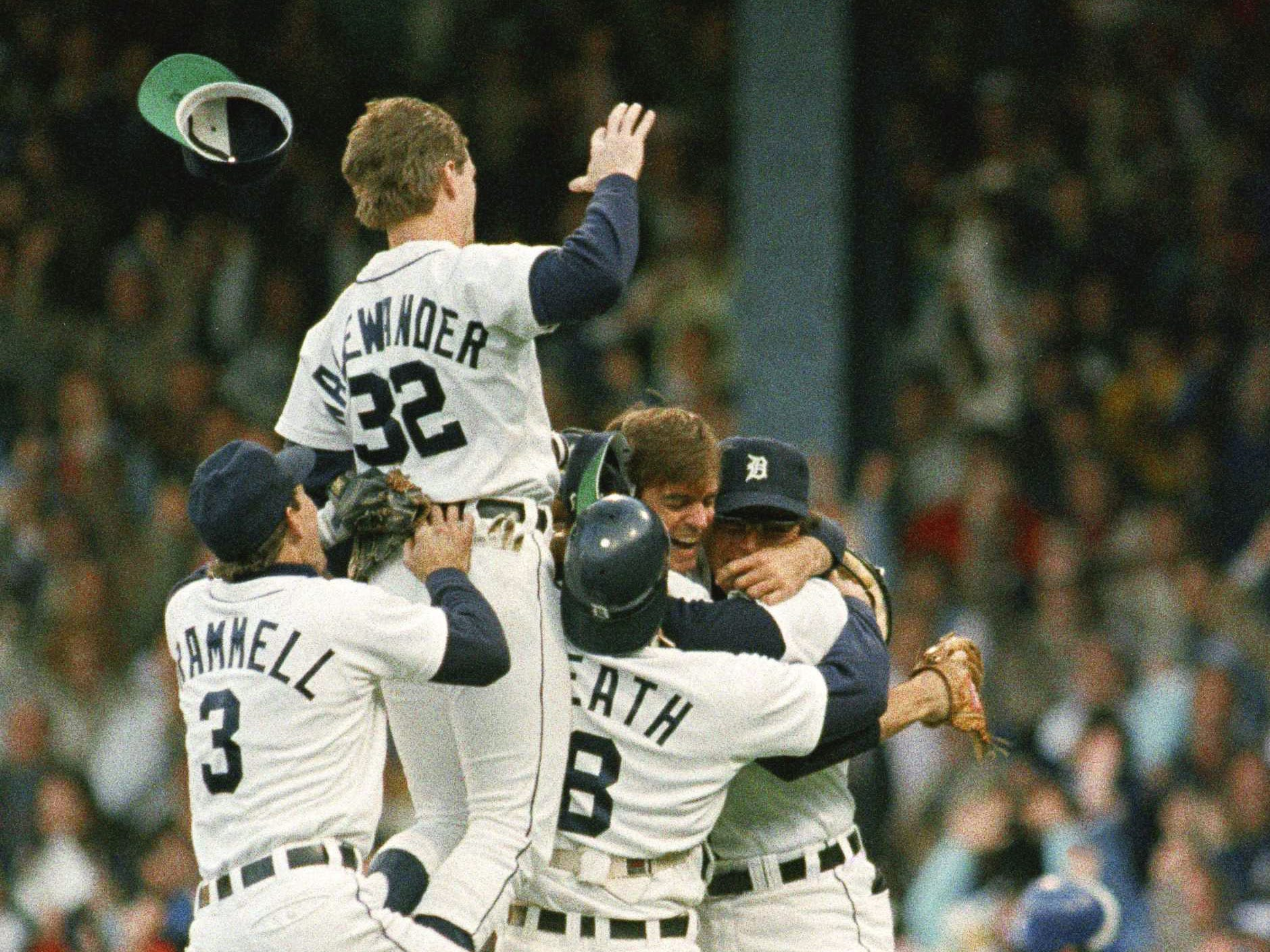TIGERS-BLUE JAYS: These clubs haven't been rivals recently, but back in the 1980s, they were at each other's throats. It never was better than in 1987, when the Tigers caught the Blue Jays and passed them to win the AL East on the final day of the regular season.