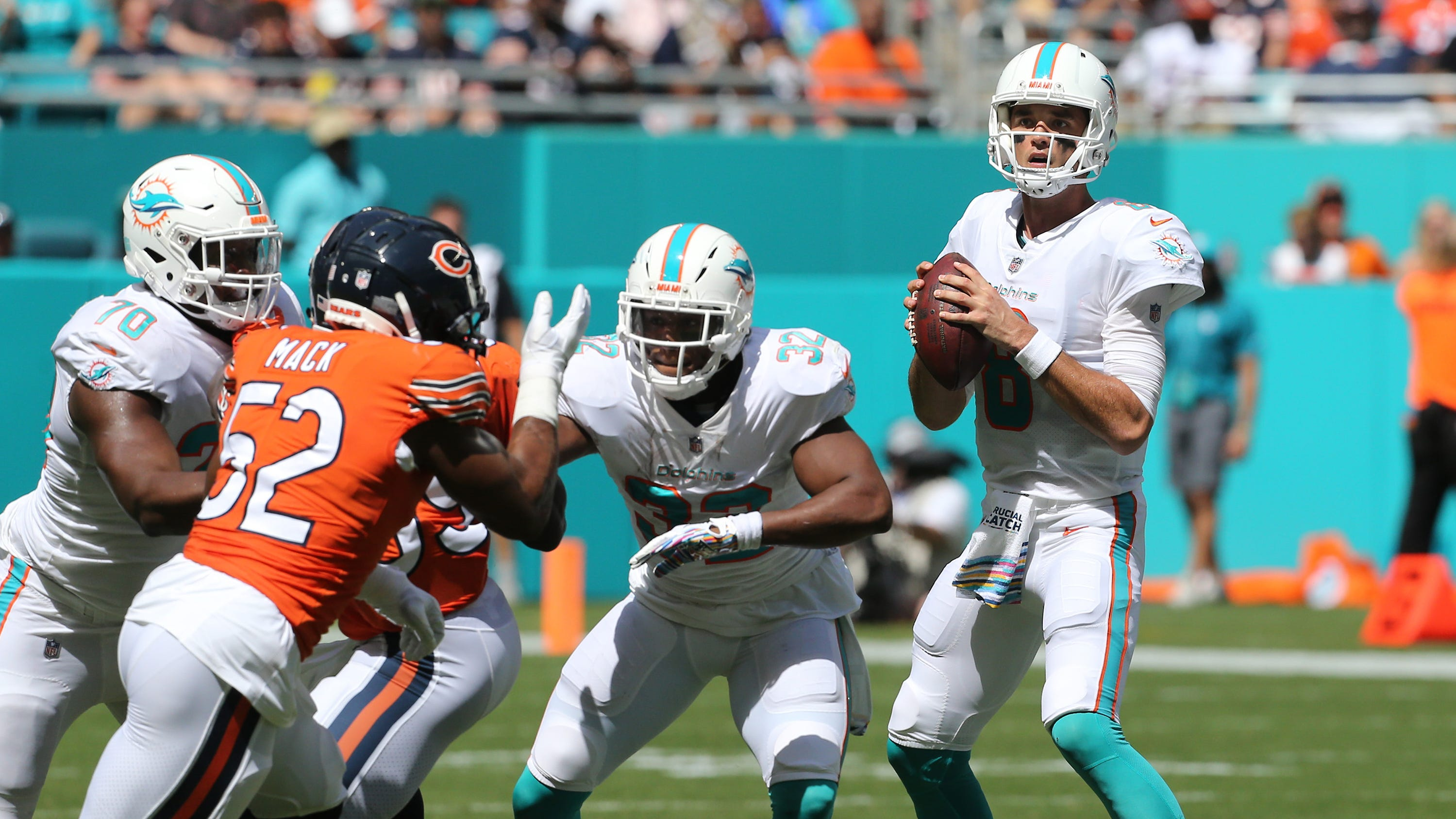 View from the other side: Lions at Dolphins