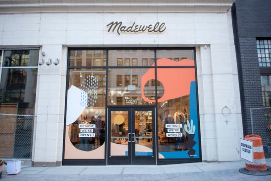 Madewell was announced among the first retailersopening at or near the Shinola Hotel earlier this month.