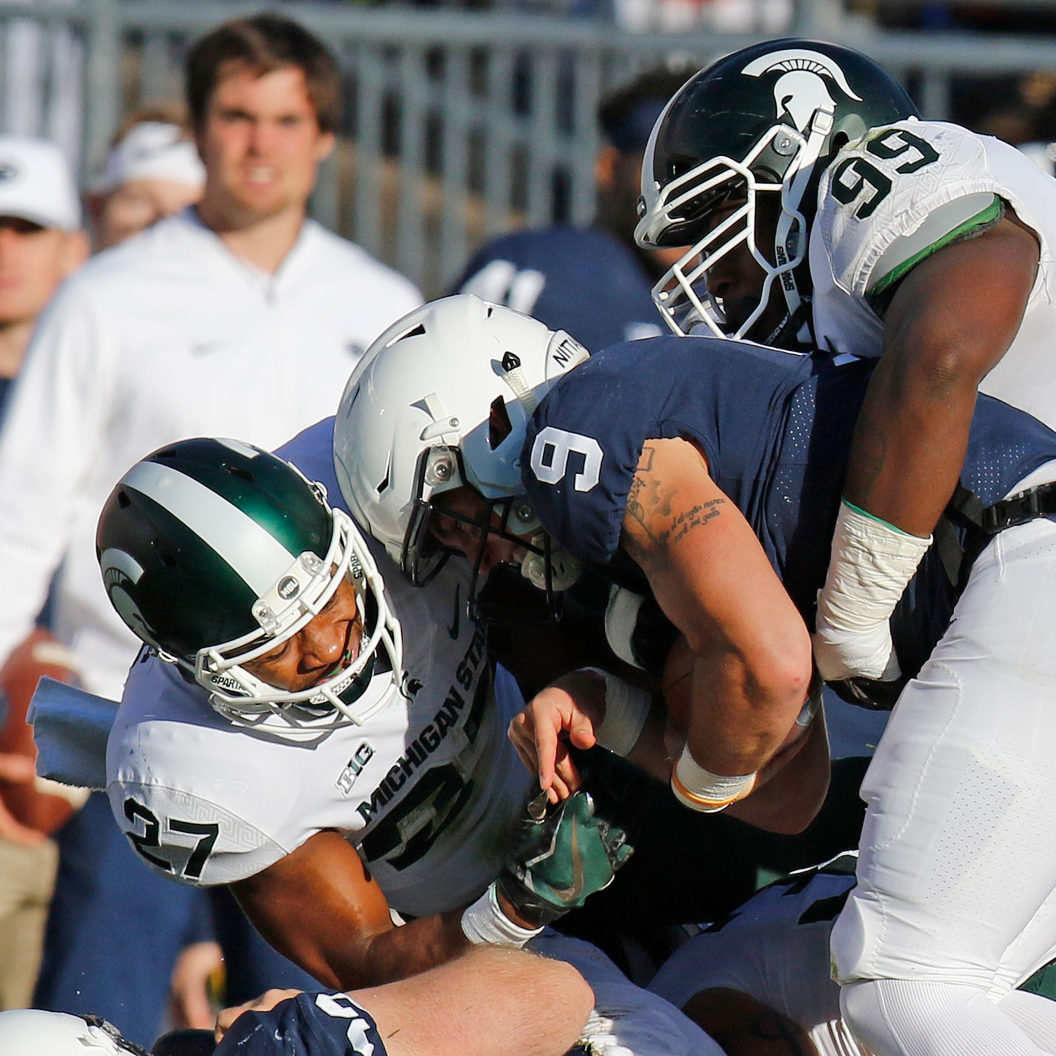 Michigan State's Khari Willis wins Big Ten defensive award