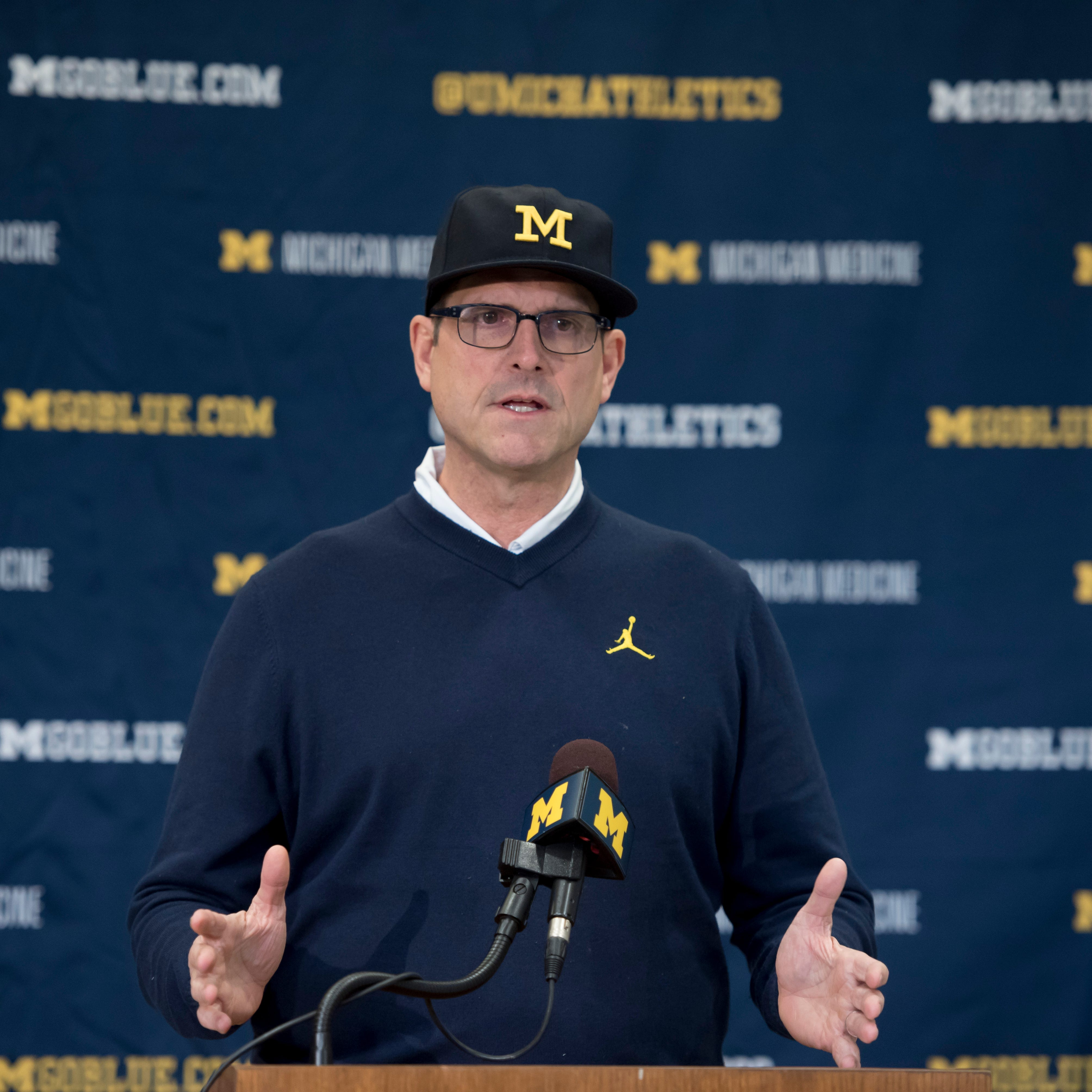 Recap: Jim Harbaugh Monday news conference