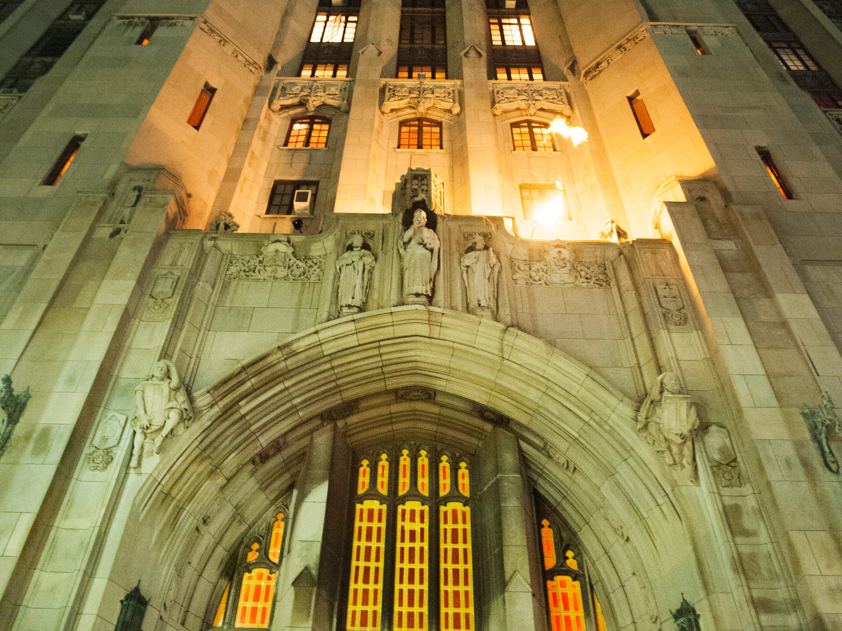 The massive and imposing Masonic Temple hosts Theatre Bizarre on back-to-back October weekends in Detroit the creepy and the curious alike come to revel in 'The Great Deception' on Saturday, October 13, 2018. Theatre Bizarre concludes this weekend with the second Masquerade Gala on Friday the 19th and the final Theatre Bizarre party on Saturday the 20th. For more information check out www.theatrebizarre.com.