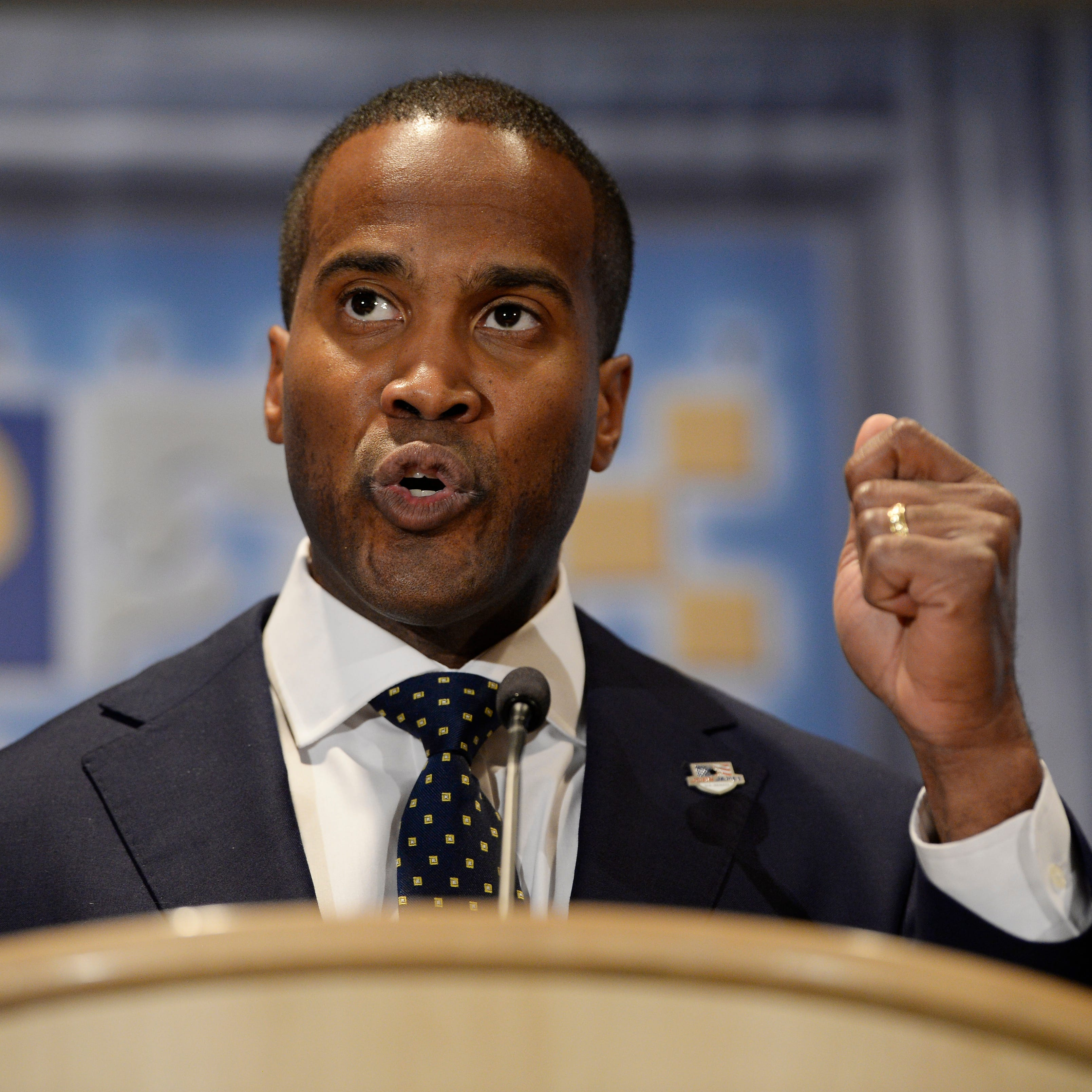 Another contractor scrutinized for giving to John James super PAC