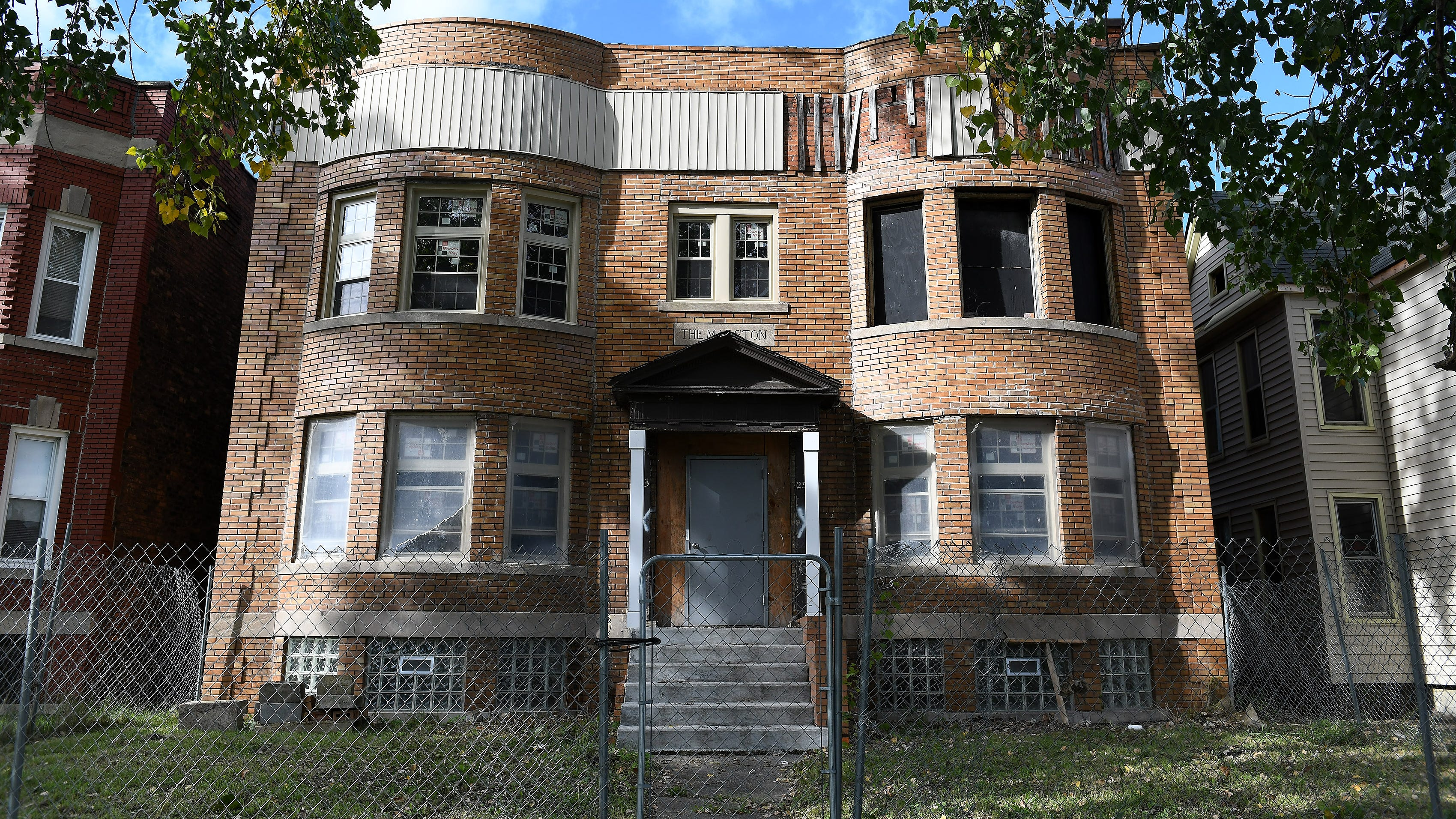 Gilchrist late on taxes for blighted building