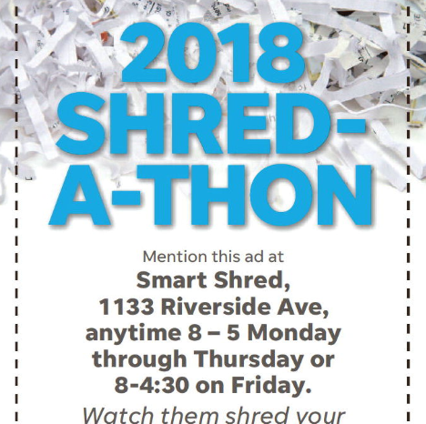Safely shred your sensitive documents to support United Way of Larimer County