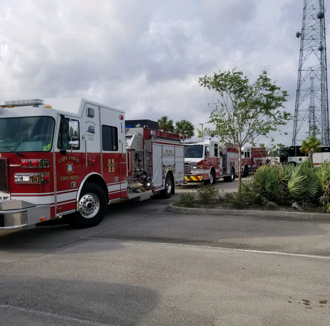 Local first responders hit the Florida Panhandle to help Michael victims