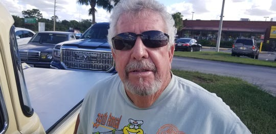 Bill Burks, the impresario for the weekly  classic car show outside the Applebee's restaurant in North Fort Myers says he is glad that a county hearing examiner is looking favorably at making a technical change in the city zoning code to allow the show to continue to operate every Monday, rather than have four weeks with shows allowed followed by six weeks where they are not allowed.