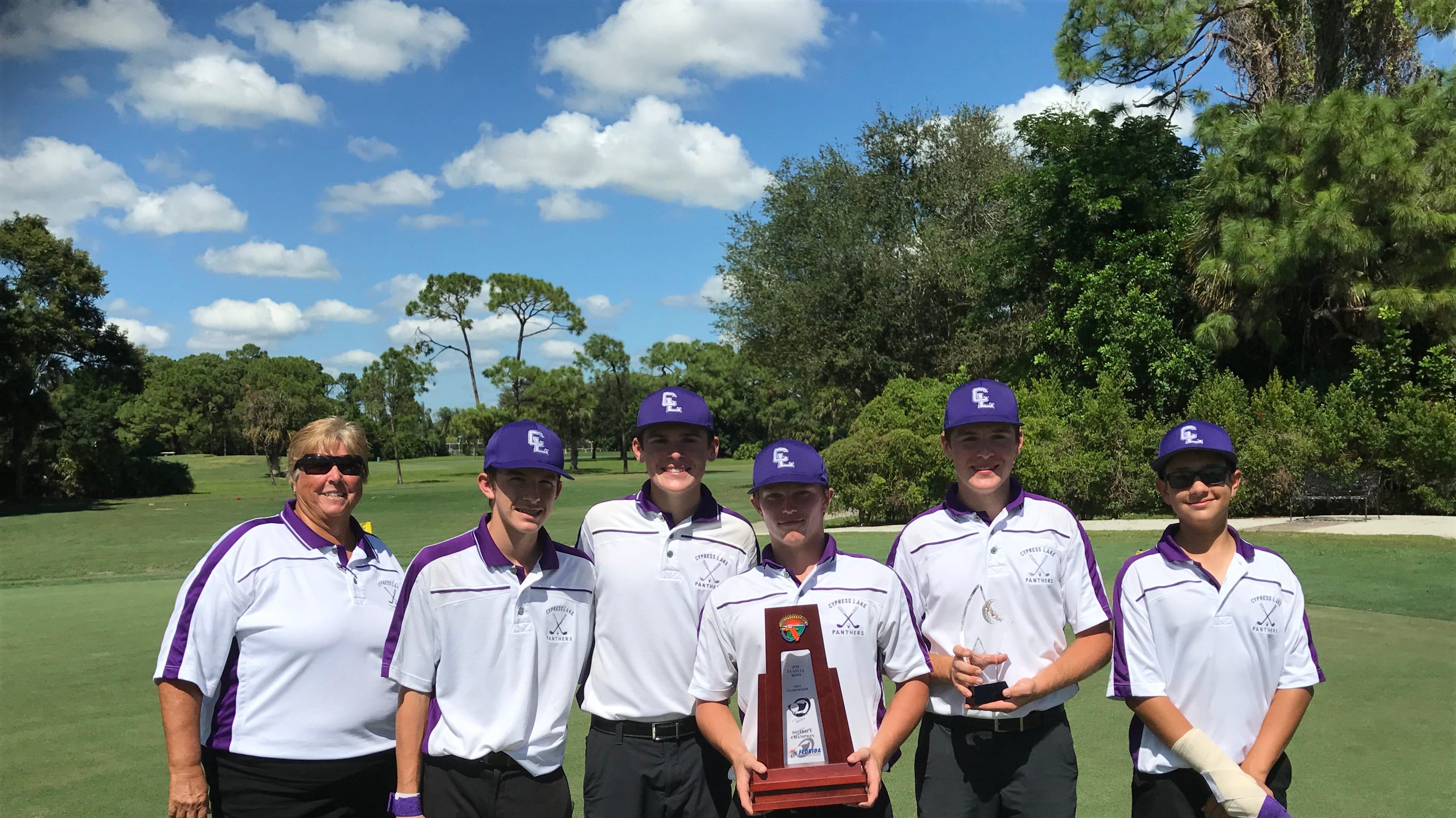 High school golf districts: Cypress Lake boys; Bishop Verot, North Fort Myers girls win titles