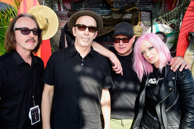 Butch Vig, from left, Duke Erikson, Steve Marker and Shirley Manson of Garbage.