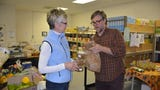 About 400 people are helped every month at the Sturgeon Bay Lakeshore Community Action Program food pantry. Stock the Shelves campaign provides funds to sustain program.