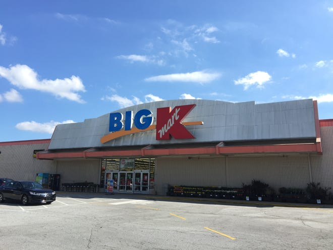 The Kmart in Mauldin is pictured on Monday, Oct. 15, 2018. The store is one of the 142 that will close following parent company Sears Holdings' declaration of bankruptcy.