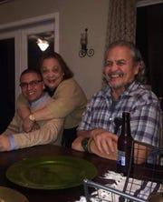 Randy Pereira and his parents Agnes (San Agustin) San Nicolas Pereira and Jose Pangelinan Pereira.
