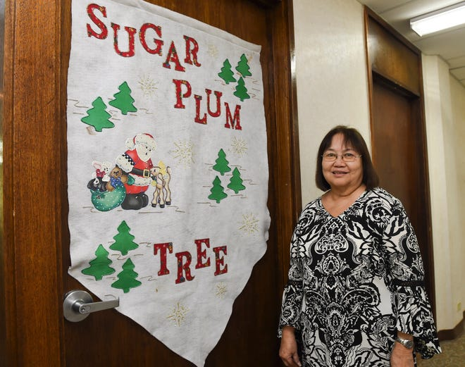 Bobbie Leon Guerrero, the late executive director of the Sugar Plum Tree is shown in this Oct. 15, 2018, file photo.
