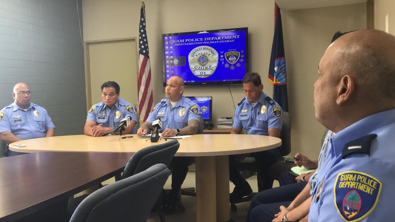 GPD Chief Joseph I. Cruz explains the intent behind a 106-question survey the police department intends to distribute next year. GPD initially asked to distribute voluntary surveys outside polling sites on Election Day. That plan has changed and the survey will be done later.