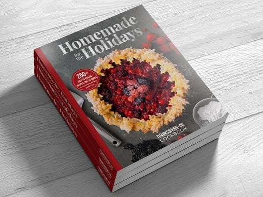 50% Off Homemade for the Holidays Cookbook