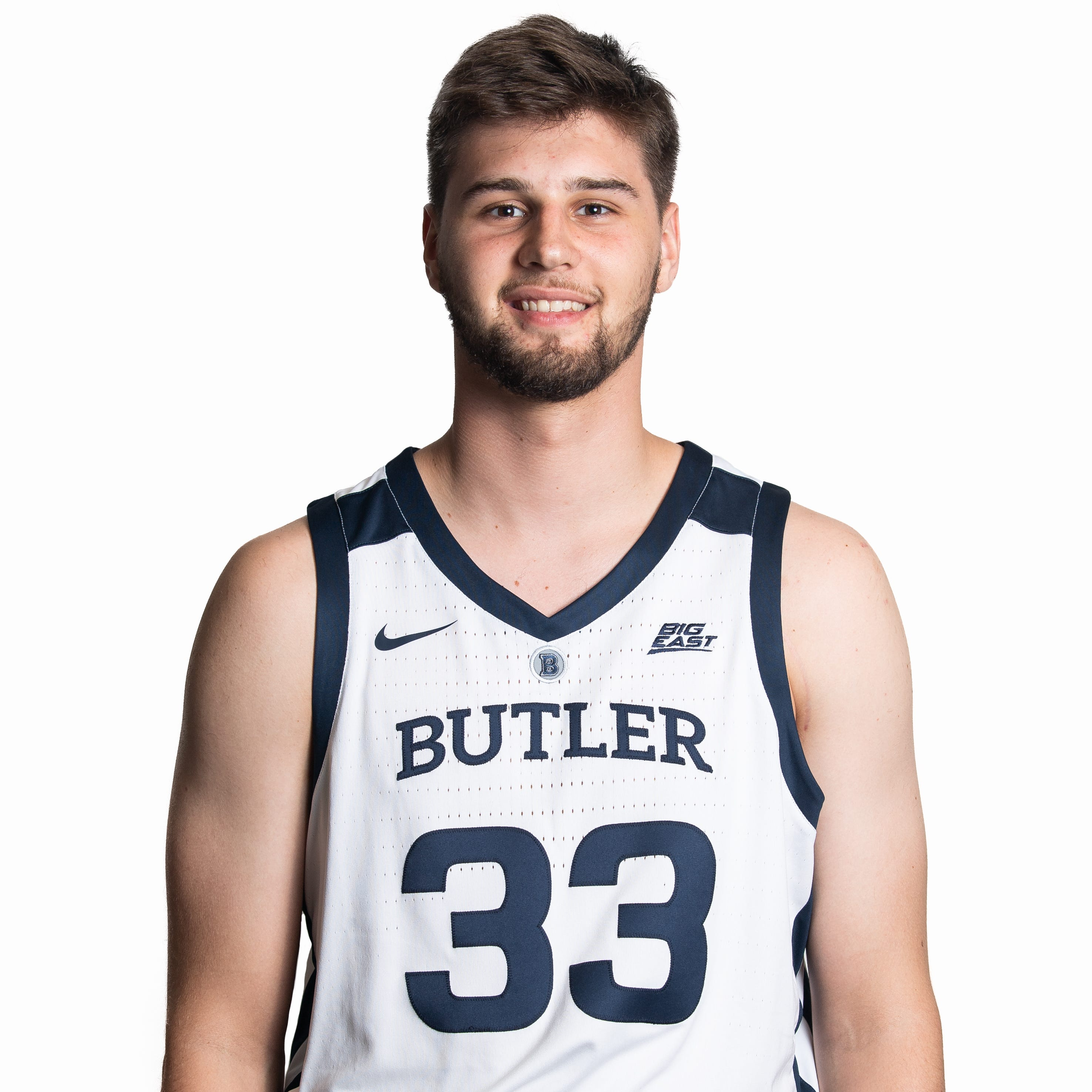 Butler freshman Bryce Golden aims to honor his family, Joel Cornette by wearing No. 33