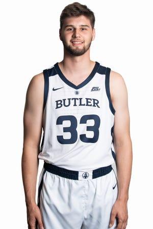 Butler freshman Bryce Golden will wear No. 33, the number of former Bulldogs standout Joel Cornette.