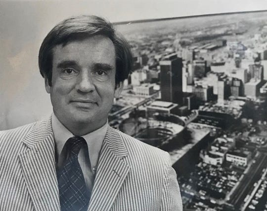 Former Pacers owner Dick Tinkham was key in getting Market Square Arena built in the early 1970s.