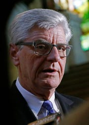 Gov. Phil Bryant endorses Tate Reeves for governor despite contested Republican primary