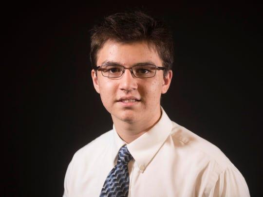 Tony Spezia, IV for 20 Under 20 on  Tuesday, October 9, 2018