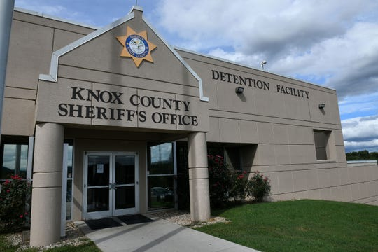 Knox County Sheriff Tom Spangler met with commissioners and media at the Roger D. Wilson Detention Facility Wednesday, Oct. 10, 2018 to talk about jail space and staffing needs.