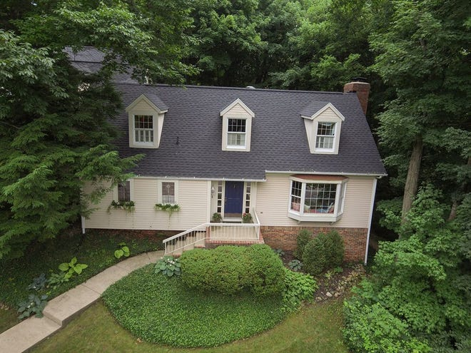 This Cape Cod home located just along the edge of Vinton Woods endless space while appearing quaint from the street.