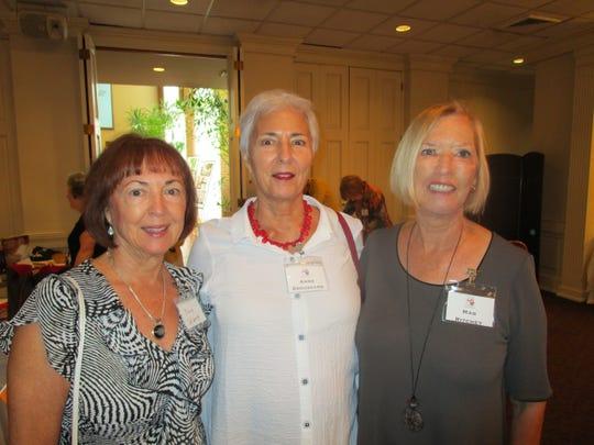 Dee Watt, Anne Broussard and Mag Ritchey