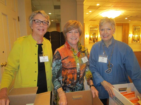 Carolyn Bruder, Susan Higgins and Pam Stroup