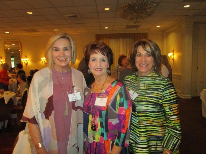 Kathy Hardy, Jenny Feehan and Sharon Fontenot