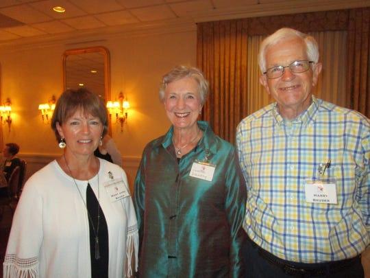 Mary Jane Bauer, Paulette Landry and Harry Bruder