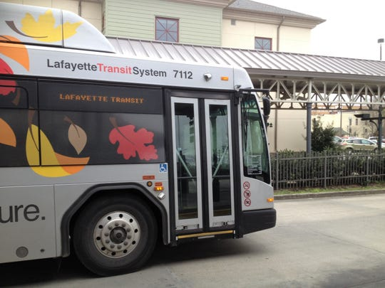 Free bus service in the city of Lafayette may be offered on two upcoming election days, Nov. 6 and Dec. 8, 2018.