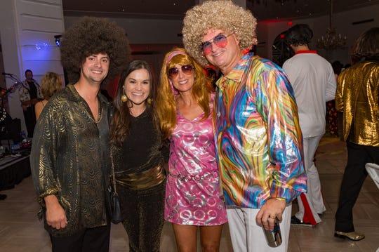 Philip Marsiglia, Lauren Becnel, Kelli Becnel and Mike Becnel