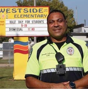 Scott Police Department Officer Joseph Celestine.