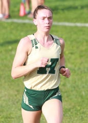 Emily Endebrock finished 21st in 20:01.3, leading Howell to a fourth-place finish in the Greater Lansing Cross Country Championship.
