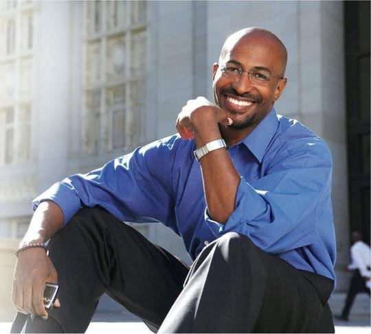 Van Jones is a news commentator, author, and activist