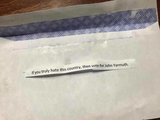 John Yarmuth voter intimidation