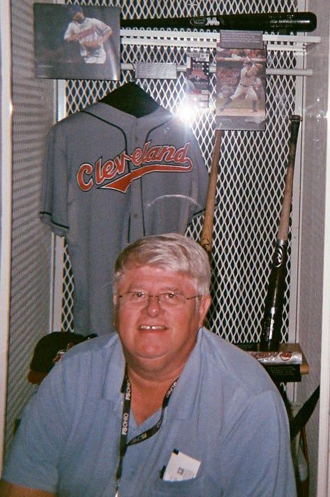 Bob Putman At Baseball Hall