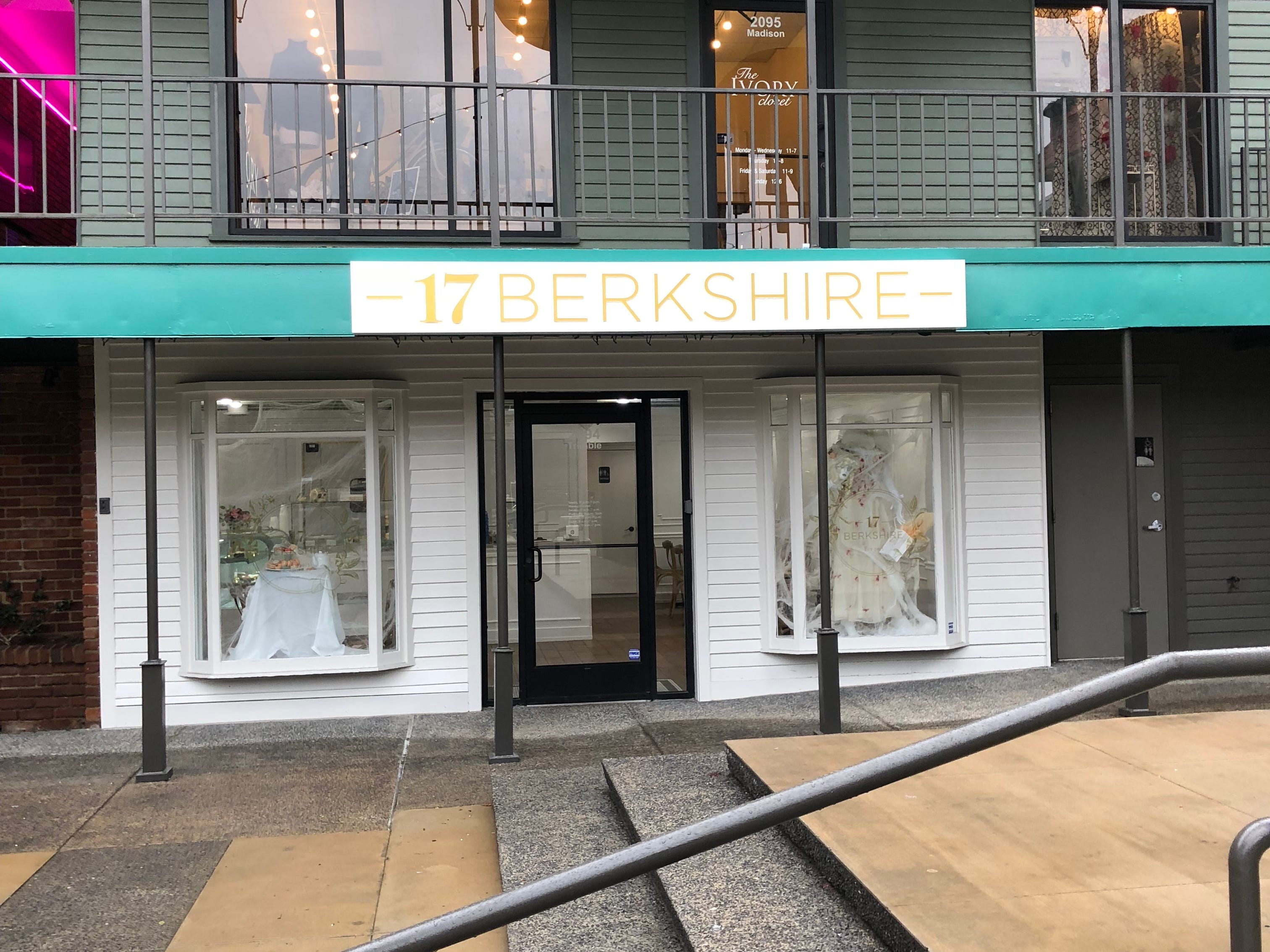 17 Berkshire is located on the back side of Overton Square.