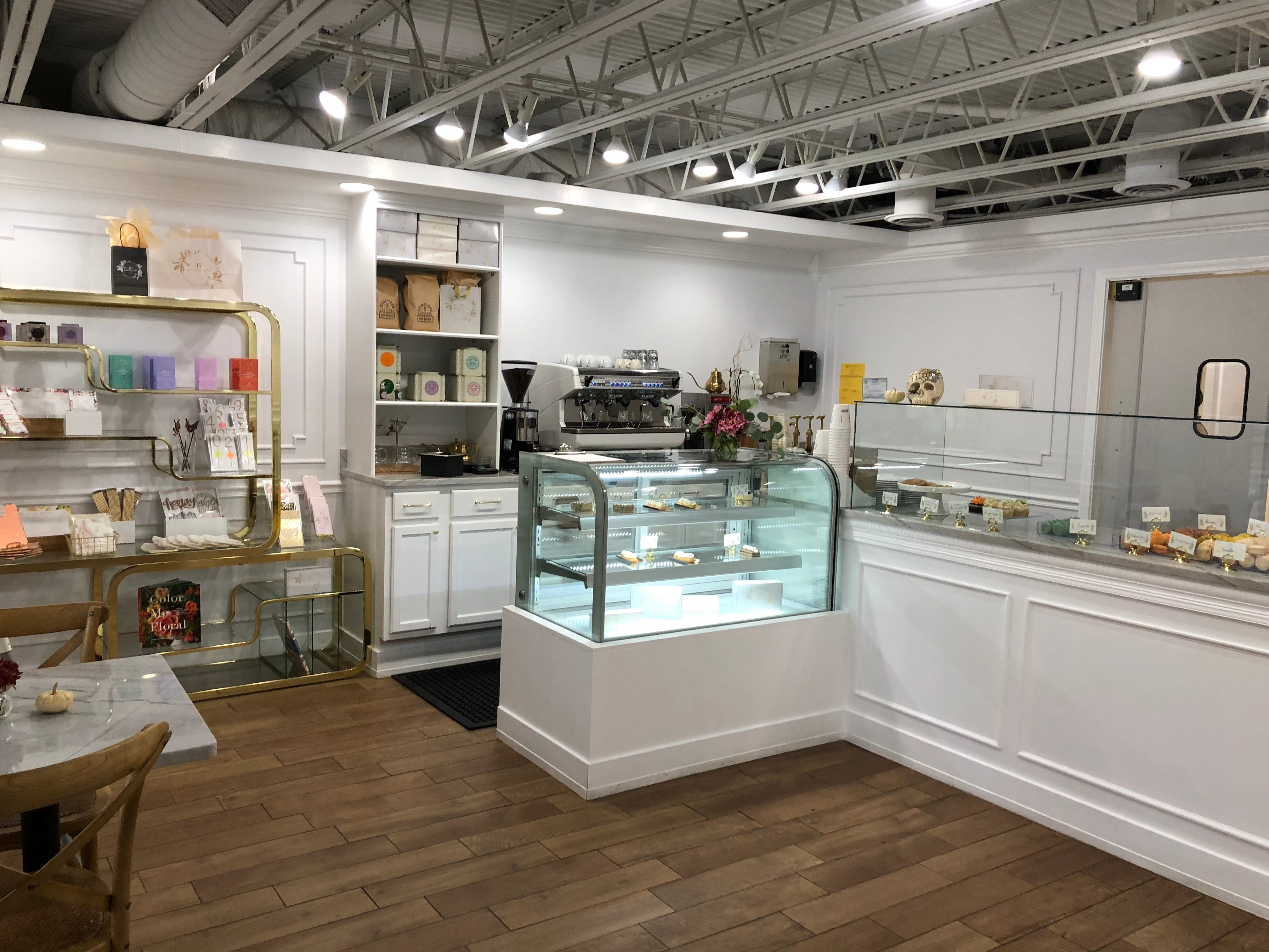 The inside of 17 Berkshire, a European-inspired bakery and coffee shop in Overton Square.