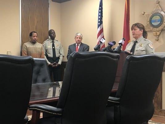 Shelby County Sheriffs Office Press Conference