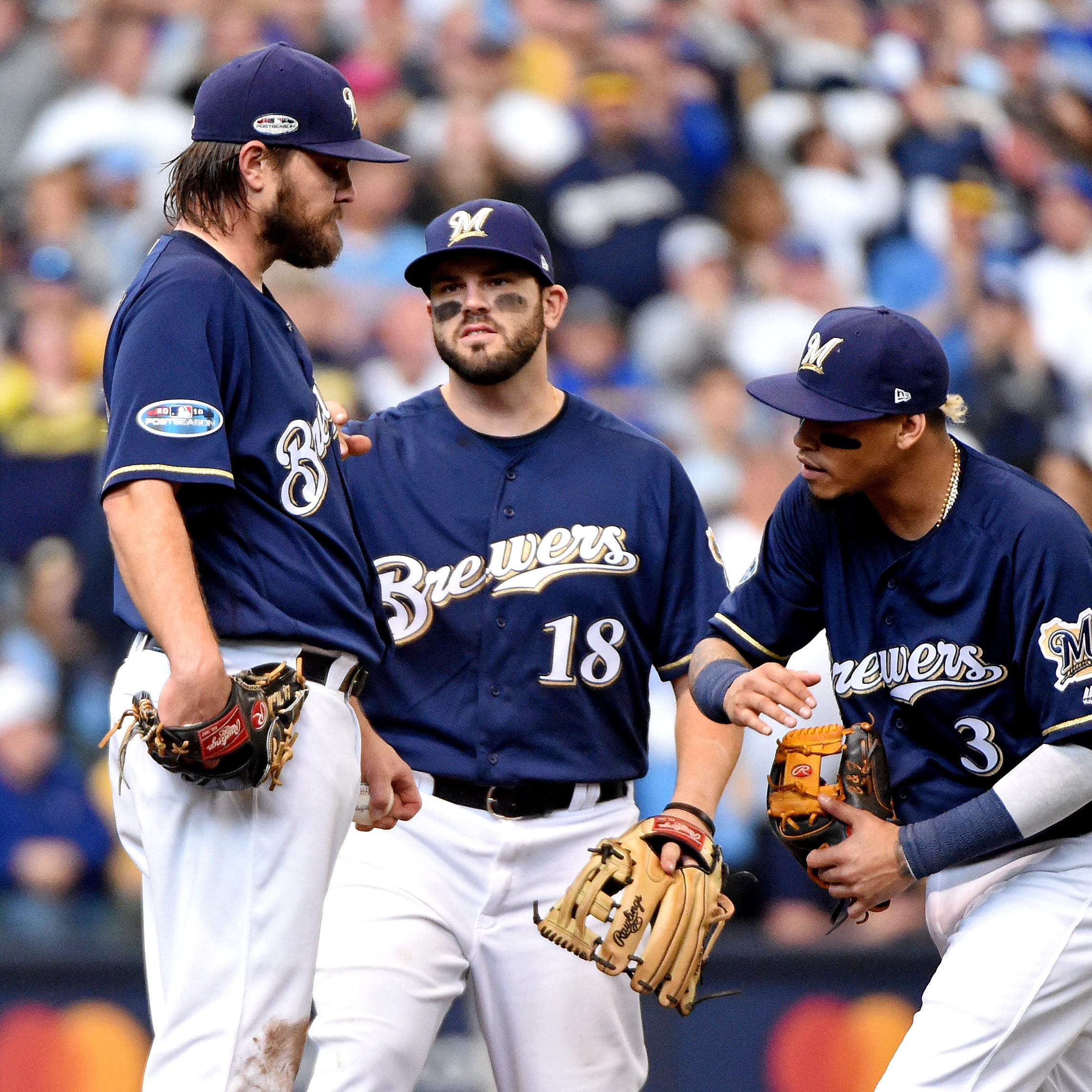 Notes: Craig Counsell still making no apologies for pulling Wade Miley after one batter