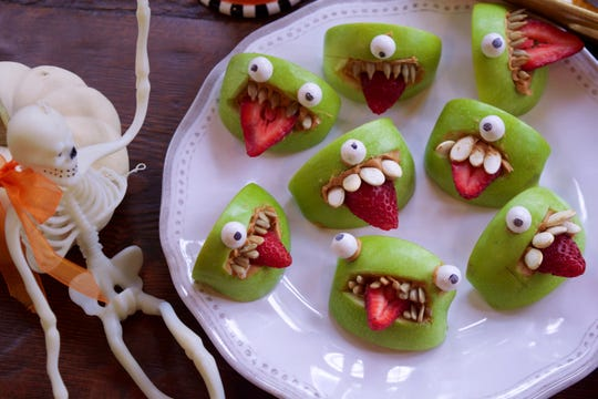 One eye or two? Either way, these monster bites are cute and tasty.